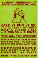 Eating Contest Poster