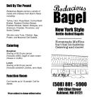 takeout menu